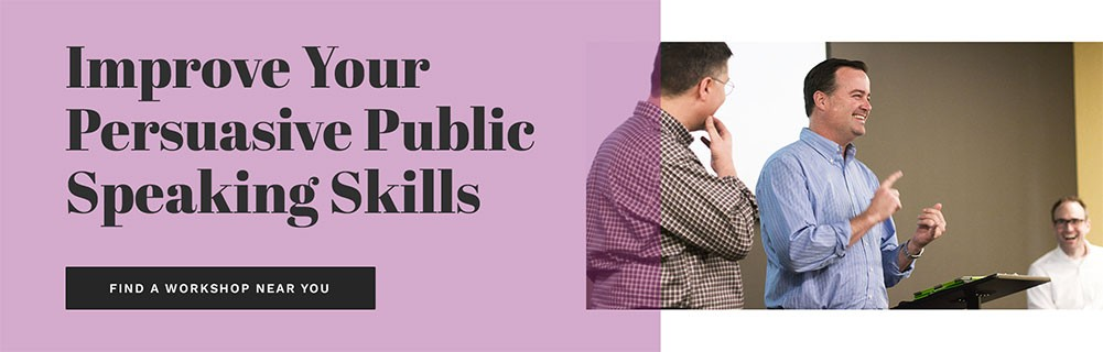 improve your persuasive public speaking skills Call-to-action