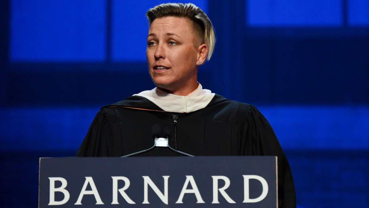 Abby Wambach's Uses Personal Stories During Barnard Commencement Address