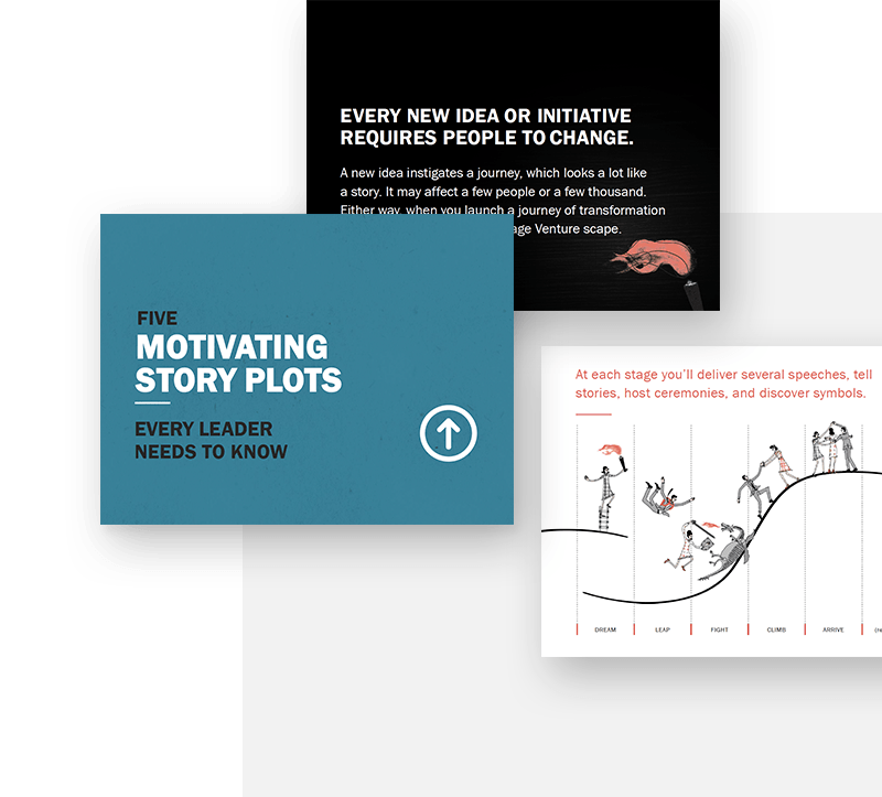 Motivating Story Types slides