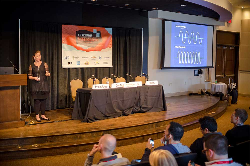 Nancy Duarte at SXSW