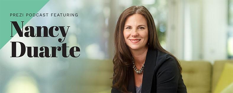 Prezi podcast with Nancy Duarte
